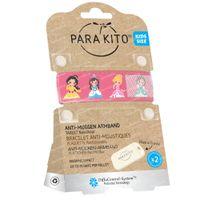 Para'Kito Anti-Moustique Bracelet Kids Princesse Rechargeable 1 pièce