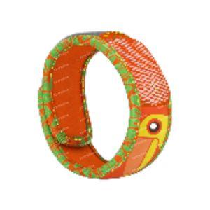 Para'Kito Anti-Moustique Bracelet Kids Toucan Rechargeable 1 pièce