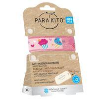 Para'Kito Anti-Moustique Bracelet Kids Cupcakes Rechargeable 1 pièce