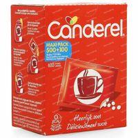 Canderel Recharge + 100 Comprimés GRATUIT 500+100  comprimés