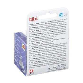 Bibi Fopspeen Happiness Dental Birdy 6-16 Monaten 1 st