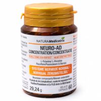 Neuro-Ad Concentratie 60  capsules