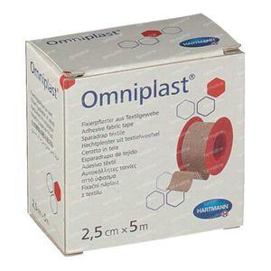 Hartmann Omniplast 2.5cm x 5m 9004413 1 stuk