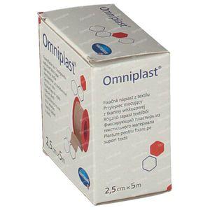 Hartmann Omniplast 2.5cm x 5m 9004413 1 item
