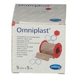 Hartmann Omniplast 5cm x 5m 9004423 1 stuk