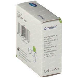 Hartmann Omnisilk 1.25cm x 5m 9004302 1 stuk