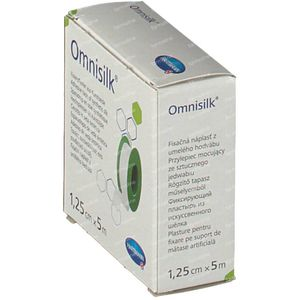 Hartmann Omnisilk 1.25cm x 5m 9004302 1 item