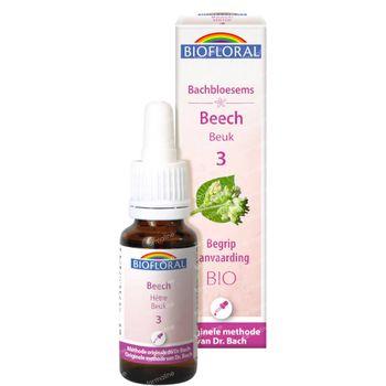 Biofloral Bachbloesems 03 Beuk Bio 20 ml