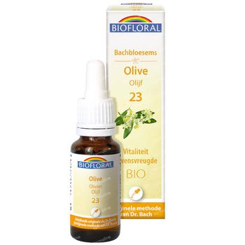 Biofloral Bachbloesems 23 Olijf Bio 20 ml