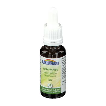 Biofloral Bachbloesems 34 Waterviolier Bio 20 ml