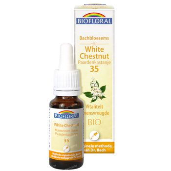 Biofloral Bachbloesems 35 Paardenkastanje Bio 20 ml