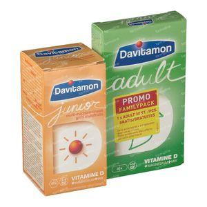 Davitamon Junior Multivruchten + GRATIS Adult 60+30 tabletten