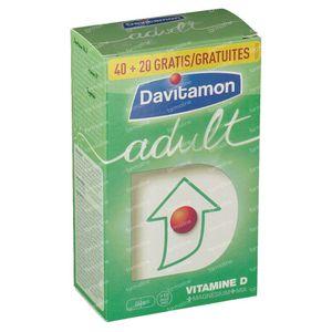 Davitamon Adult + 20 Tablets For FREE 40+20 compresse