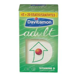 Davitamon Adult + 20 Tablets For FREE 40+20 tablets