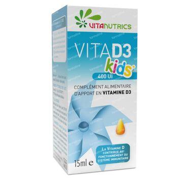 Vitanutrics Vita D3 400UI Kids 15 ml gouttes