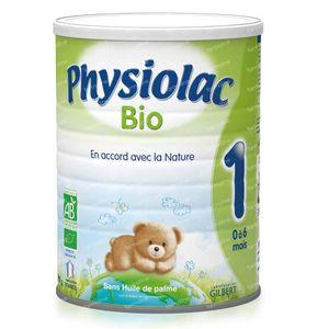 Physiolac Bio 1 800 g Pulver