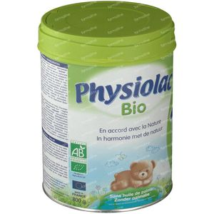 Physiolac Bio 1 800 g pulver
