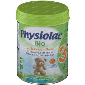 Physiolac Bio 3 800 g powder