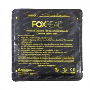 Covarmed Chest Seal 2 pack (Foxseal) 2 stuks