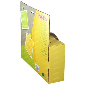 Nuby Besteckset Bamboo & Maize Rosa 6Monate + ID5498 1 shaker