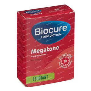 Biocure Long Action Megatone 30 dragees
