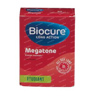 Biocure Long Action Megatone 30 dragées