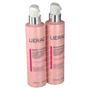 Lierac Body-Hydra Revitaliserende Melk Duo 2x200 ml