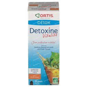 Ortis Detoxine Vitaliteit BIO Perzik-Citroen 250 ml