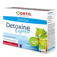Ortis Detoxine Express BIO Passievrucht/Granaatappel 7x15 ml flacons