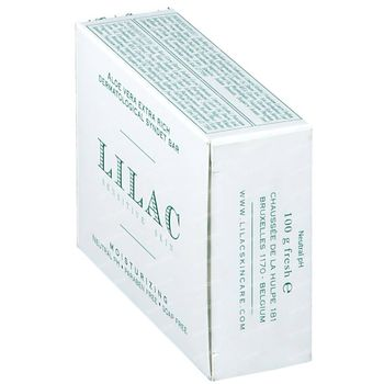 Lilac Dermatologische Zeep Overvet Aloë Vera 100 g