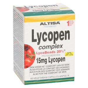 Altisa Lycopene Complex 15 mg 60 kapseln