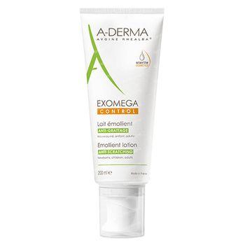 A-Derma EXOMEGA Control Erweichende Milch (Sterile Kosmetik) 200 ml