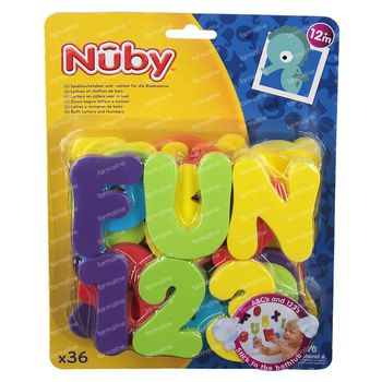 Nuby Badespielzeug Letters & Numbers 12Monate + ID6140 1 shaker