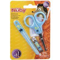 Nuby Set de Soins des Ongles Bleu 0Mois+ ID4774 1 st