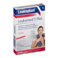 Leukoplast Leukomed T Plus Steriel 5x7,2cm 5 st