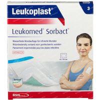 Leukoplast Leukomed Sorbact 8x10cm 7995004 3 st