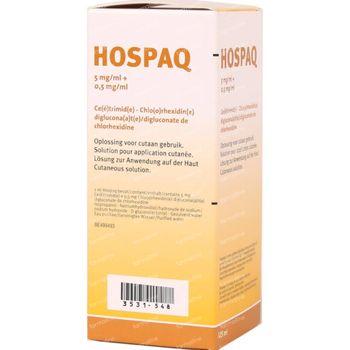Hospaq 5mg/ml + 0,5mg/ml Oplossing voor Cutaan Gebruik 125ml 125 ml
