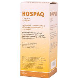 Hospaq 5mg/ml + 0,5mg/ml Oplossing voor Cutaan Gebruik 250 ml