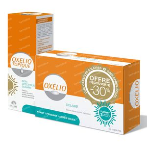 Oxelio Kit 60 Capsules + 30 ml Gel 1 item