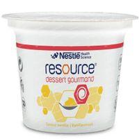 Resource Dessert Gourmand Vanille 4x125 g