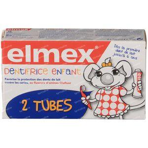 Elmex Zahnpasta Kinder 0 - 5 Jahr Duo 2x50 ml