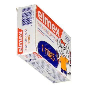 Elmex Dentifrice Enfant 0-5 Ans Duo 2x50 ml