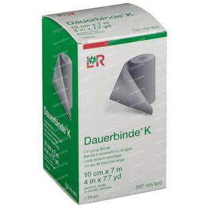 Lohmann & Rauscher Dauerbinde K 10cmx7m 1 st
