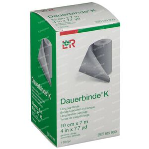 Lohmann & Rauscher Dauerbinde K 10cmx7m 1 stuk