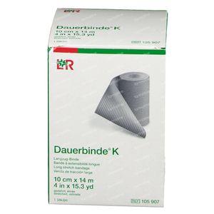 Lohmann & Rauscher Dauerbinde K 10cmx14m 105907 1 stuk