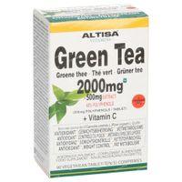 Altisa Grüner Tee 2000mg (500mg Extrakt) 90  tabletten