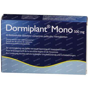 Dormiplant Mono 500mg 40 comprimés