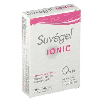 Suvégel Ionic Vaginale 10 capsules