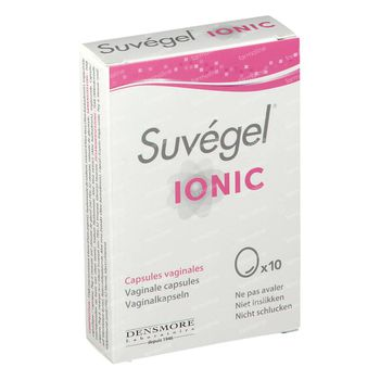 Suvégel Ionic Vaginaal 10 capsules