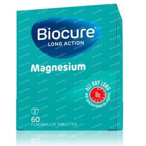 Biocure Long Action Magnesium 60 St Dragees